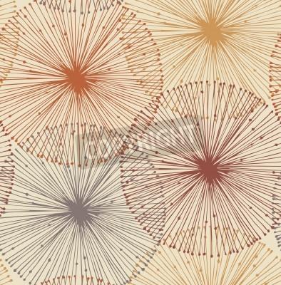 Carta da parati Sandy e elementi radiali sfondo arancione senza soluzione di continuità per modelli, carte, tessuti, carte da parati, pagine web