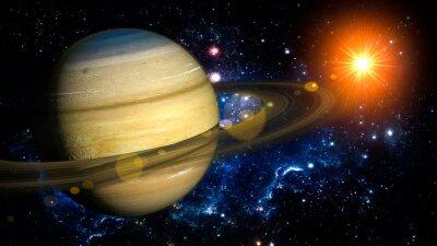 Carta da parati Saturno