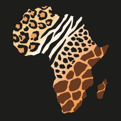 Carta da parati sauvages Afrique_animaux