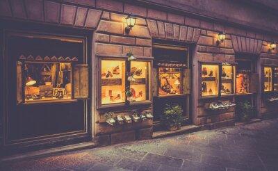 Carta da parati Scarpe negozio in Toscana