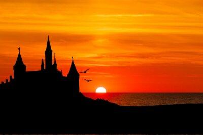 Carta da parati Schloss am Meer