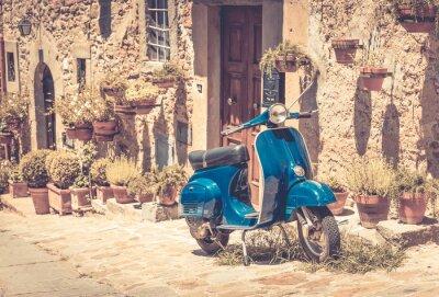 Carta da parati Scooter in Toscana