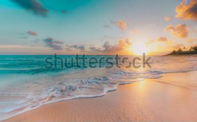Carta da parati sea beach blue sky sand sun daylight relaxation landscape viewpoint for design postcard and calendar in thailand