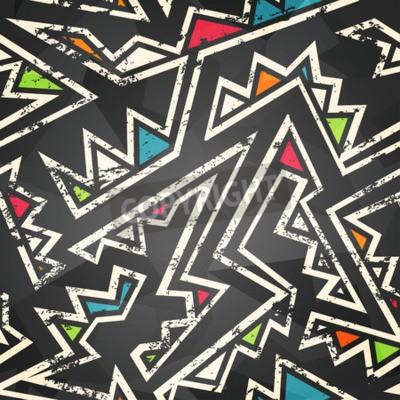 Carta da parati seamless graffiti