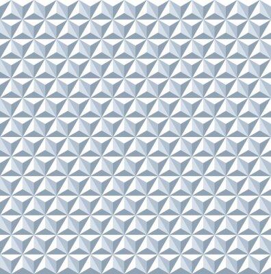 Carta da parati Seamless pattern 3d. Struttura geometrica.