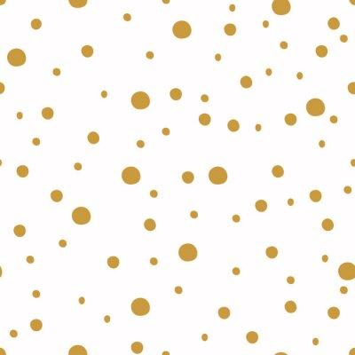 Carta da parati Seamless pattern con punti. Sfondi di Natale.