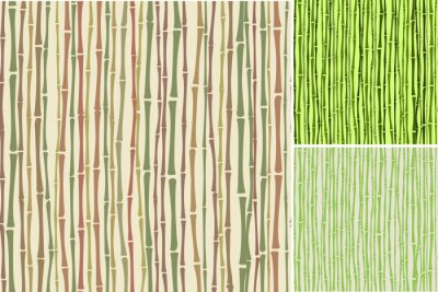 Carta da parati seamless texture con canne di bambù