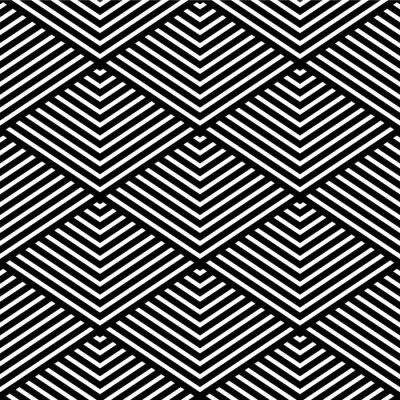 Carta da parati Seamless texture geometrica.