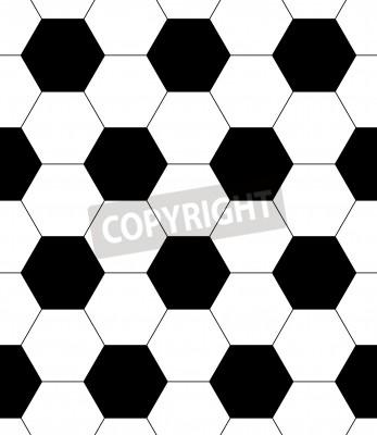 Carta da parati senza soluzione di continuità sfondo pallone da calcio