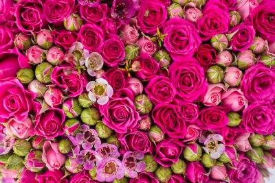 Carta da parati Sfondo astratto di fiori.