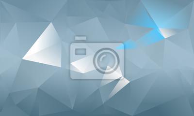 Sfondo Astratto Triangolo Colore Azzurro E Bianco Carta Da Parati