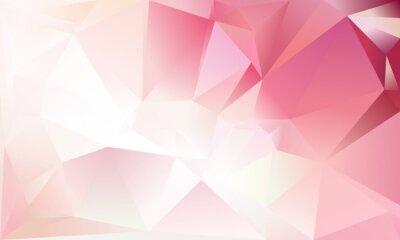 Sfondo Astratto Triangolo Colore Rosa Chiaro Bianco E Rosso Carta