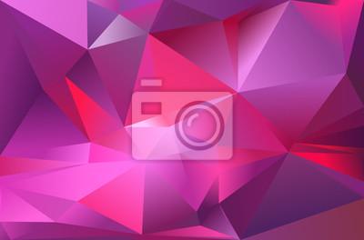 Sfondo Astratto Triangolo Colore Rosa Violaceo Viola Rosso Carta
