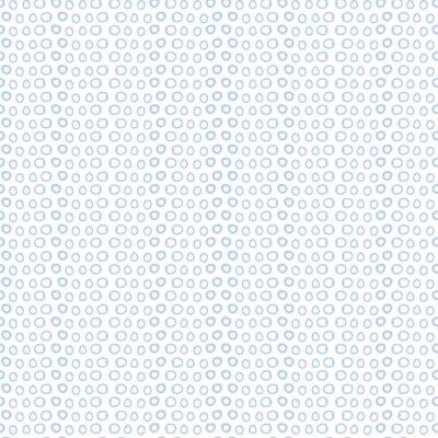 Carta da parati sfondo cerchi bianchi blu e l'icona. Carta da parati decorazione. illustrazione di vettore