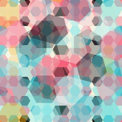 Carta da parati sfondo colorato geometrica