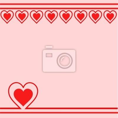 Sfondo Con Cuori Rossi Carta Da Parati Carte Da Parati Amante