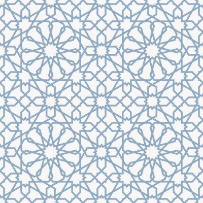 Carta da parati Sfondo con seamless in stile islamico