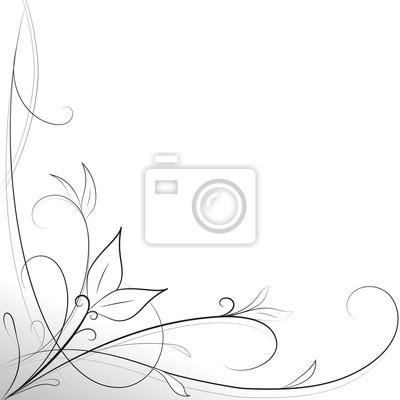 02e7a55742 Sfondo decorazione foglie bianco e nero carta da parati • carte da ...