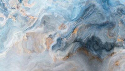 Carta da parati Sfondo di marmo blu