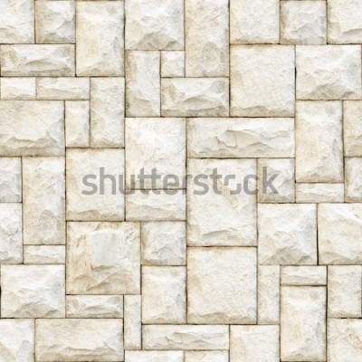 Carta da parati Sfondo di superficie pietrosa beige senza soluzione di continuità.