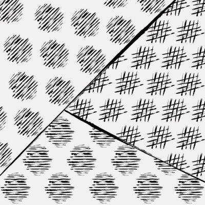 Carta da parati sfondo modello astratto, con colpi e schizzi, un nero