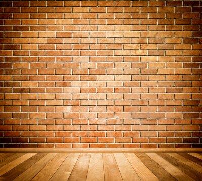 Carta da parati Sfondo muro di mattoni.