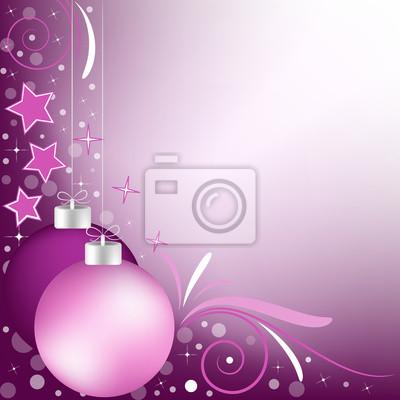 Sfondo Natalizio Paline Di Natale Viola Sfumato Carta Da Parati
