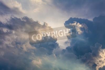 Carta da parati Sfondo naturale del cielo e le nuvole