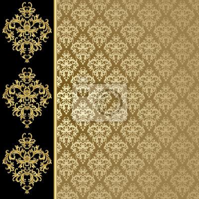 d082f0ed64 Sfondo nero e oro carta da parati • carte da parati impianto, seta ...