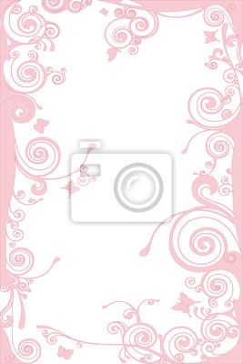 Sfondo Rosa Con Farfalle Carta Da Parati Carte Da Parati Multi