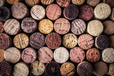 Carta da parati sfondo Tappi vino close-up