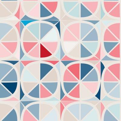 Carta da parati sfondo trasparente con forme geometriche astratte