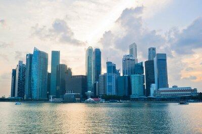 Carta da parati Singapore affari cener