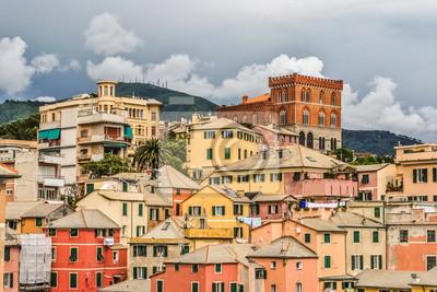 Carta Da Parati Genova.Skyline Di Boccadasse Neighborood Di Genova Carta Da Parati