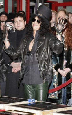 Carta da parati Slash, Ronnie James Dio e Terry Bozzio Indotte nel RockWalk di Hollywood tenuto al RockWalk di Hollywood di Hollywood nel 17 gennaio 2007 a Hollywood.