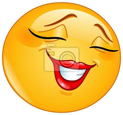 Carta Da Parati Smile Emoticon Timidamente Femminile