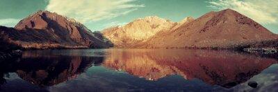 Carta da parati Snow Lake Mountain