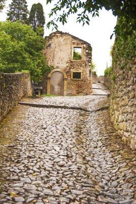 Carta da parati Soave, Strada al castello.