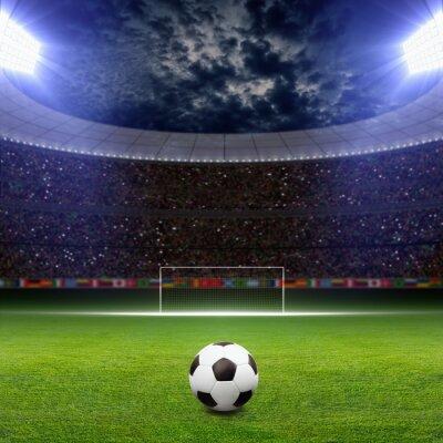 Carta da parati Soccer stadium