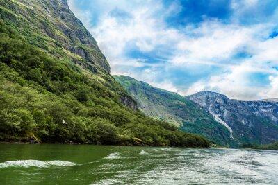 Carta da parati Sognefjord in Norvegia