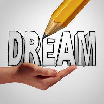 Carta da parati Sogno di pianificazione