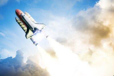 Carta da parati Space shuttle