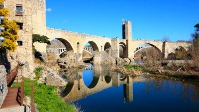 Carta da parati Spagna - Besalú