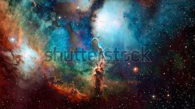 Carta da parati Spazio di alta qualità. Elementi di questa immagine forniti dalla NASA.