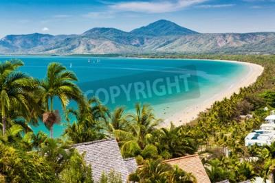 Carta da parati spiaggia di Port Douglas e mare sulla giornata di sole, Queensland, Australia