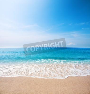 Carta da parati Spiaggia e bellissimo mare tropicale
