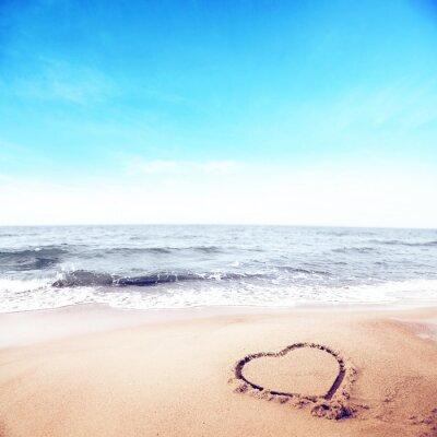 Carta da parati spiaggia estiva