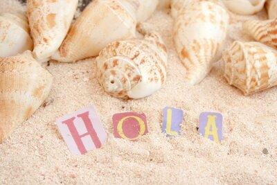 Carta da parati spiaggia spagnola