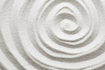Carta da parati Spiral nella sabbia