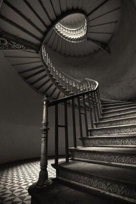 Carta da parati Spiral Stairs